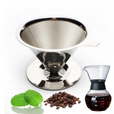 High Quality Hand Drip Stainless Steel Coffee Filter