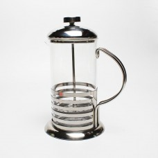 600ML French press coffee pot with stainless steel coffee plunger
