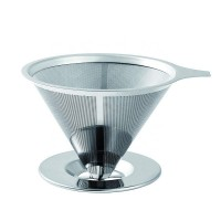 Clever Coffee Dripper With Stainless Steel Coffee Filter For Cold Brew