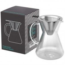 Pour Over Brewer Hand-Drip Coffee Maker Filter Set 1000ml / 34oz