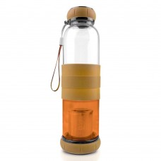 500ML Glass Infuse Tea Bottle With Silicone Sleeve