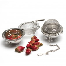 5.0 Stainless Steel Mesh Tea Ball Tea Strainer With Chain