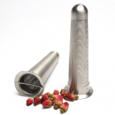 S/S Cylindrical Tea Strainer For Loose Leaf Tea