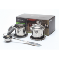 304 Stainless Steel Tea Infuser Set with Spoon