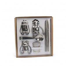 Creative Robot Monkey Frog Stainless Steel Tea Infuser Set