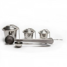 Hot Sale Classic Stainless Steel Tea Infuser Tea Steeper Set