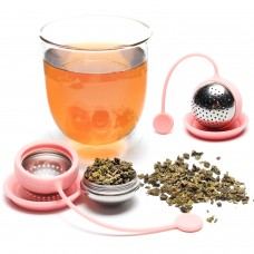Stainless steel And Silicone Ball Shape Tea infuser